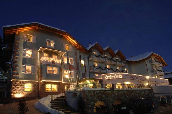 hotel Bellavista v noci