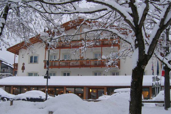 Hotel Los Andes winter