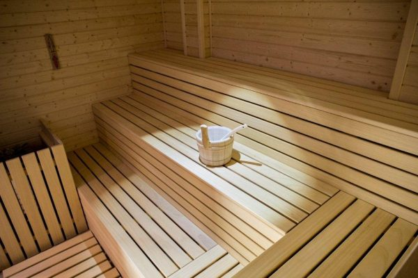 res. Lagorai - nová sauna
