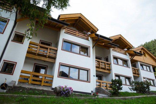 Residence des alpes - rekonstrukce