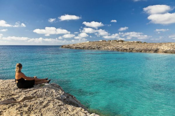 Lampedusa, Pelagie Islands, Agrigento, Sicily, Italy - Cala Croce