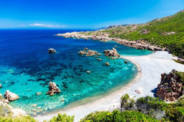 Spiaggia di Cala Tinnari - costa paradiso